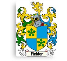 Fielder Coat of Arms Canvas Print