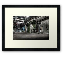 Pipework Framed Print