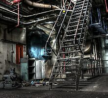 Steel Stairs by Richard Shepherd