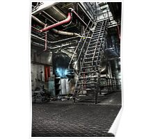 Steel Stairs Poster