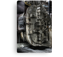 Blast Door Canvas Print