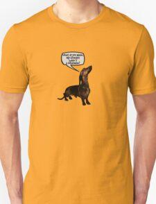 Grandpa Wasn't a Doberman? T-Shirt