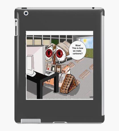 Cartoon Tutorial iPad Case/Skin