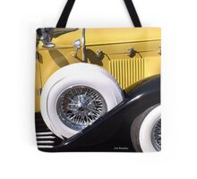 Yellow Roadster Tote Bag
