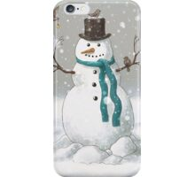 Christmas Snowman  iPhone Case/Skin