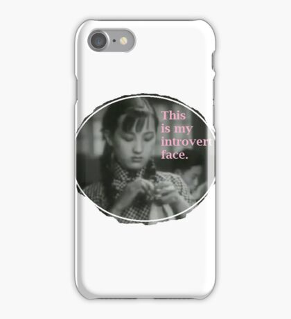 Introvert Time iPhone Case/Skin