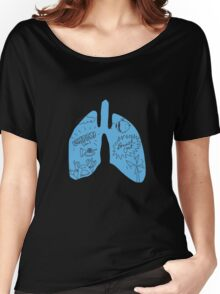 Lungs Women's Relaxed Fit T-Shirt