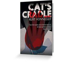 Cat's Cradle by Kurt Vonnegut  Greeting Card
