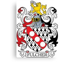 Fulcher Coat of Arms Canvas Print