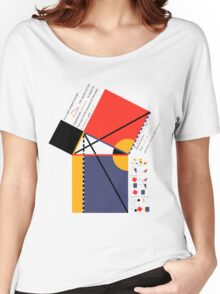 Euclid Geometry Women's Relaxed Fit T-Shirt