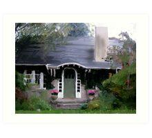 Shingle House Art Print