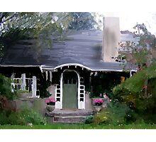Shingle House Photographic Print