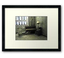 rest place Framed Print