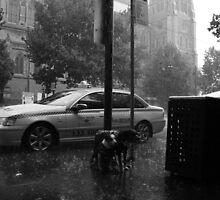 Poorin Rain by Ori Kaydar