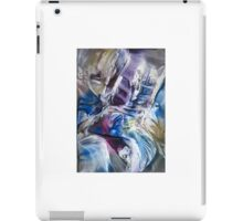 Surrounding spiral particles iPad Case/Skin