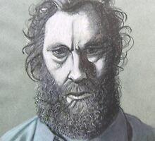 Self Portait an Unhappy Artist  by Tonkin