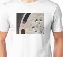 Porsche wheel #3. Unisex T-Shirt
