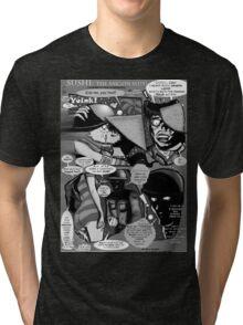 Bird of Steel Comix – #8 of 8  - (Red Bubble POP-ART COLLECTION SERIES) Tri-blend T-Shirt