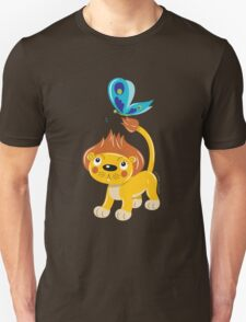 Leo and Butterfly Unisex T-Shirt