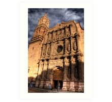 zacatecas cathedral Art Print
