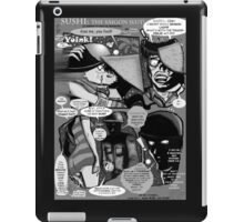 Bird of Steel Comix – #8 of 8  - (Red Bubble POP-ART COLLECTION SERIES) iPad Case/Skin