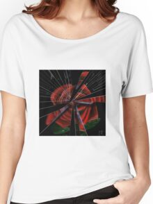 Shattered rose Women's Relaxed Fit T-Shirt
