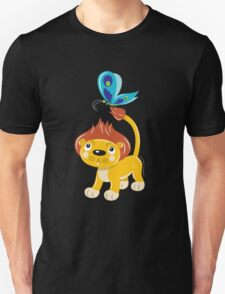 Leo and Butterfly dark tee T-Shirt