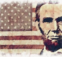 Patriot President Abraham Lincoln by morningdance
