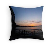 Fisheye #2 Throw Pillow