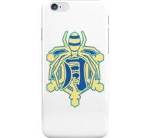 Senran Kagura - Gessen Academy Logo - White Gold iPhone Case/Skin
