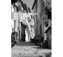Vicoli d'altri tempi Photographic Print