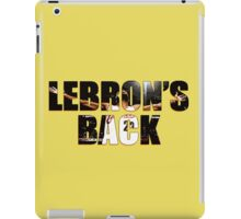 LeBron's Back iPad Case/Skin