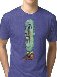 Mr. Pickle Tri-blend T-Shirt