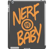 Nerf Me Baby iPad Case/Skin