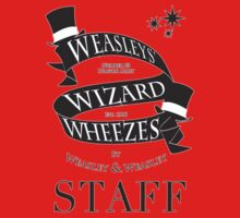 Weasleys' Wizard Wheezes Store Staff (Small Logo) Kids Tee