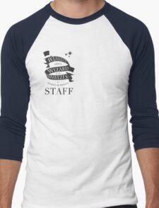 Weasleys' Wizard Wheezes Store Staff (Small Logo) Men's Baseball ¾ T-Shirt