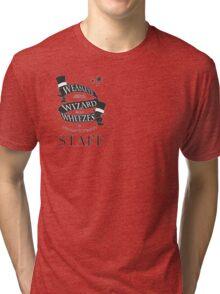 Weasleys' Wizard Wheezes Store Staff (Small Logo) Tri-blend T-Shirt