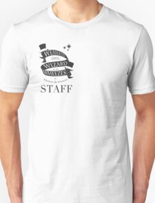 Weasleys' Wizard Wheezes Store Staff (Small Logo) Unisex T-Shirt