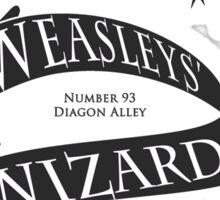 Weasleys' Wizard Wheezes Store Staff Sticker