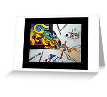 Art Attacks Greeting Card