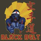 Black Belt Gorilla by Omar  Mejia