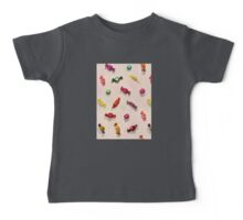 Sweet Candy Painted Pattern Baby Tee