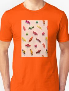 Sweet Candy Painted Pattern T-Shirt