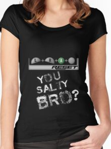 More Salt Women's Fitted Scoop T-Shirt