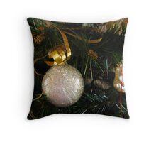 Christmas Ball Throw Pillow