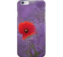 Poppy in Lavender iPhone Case/Skin