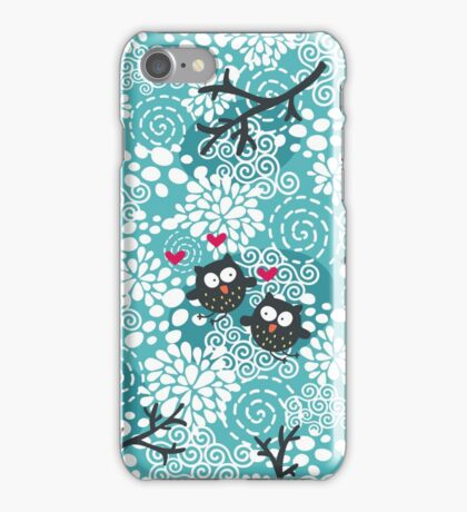 Snow owl iPhone Case/Skin