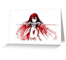 Akame ga Kill! Akame Greeting Card