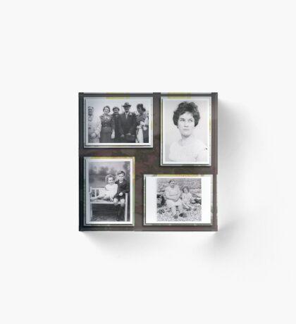 Family Portrait 4 Acrylic Block