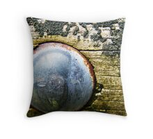 Rusty and Rustic Throw Pillow